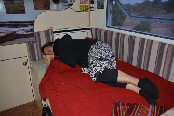 Katjas Bett für 3 Wochen