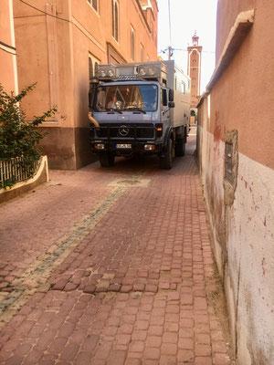 enge Straße nach Tafraoute