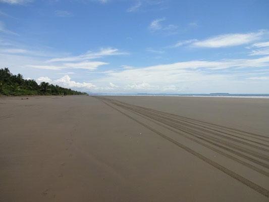 Las Lajas - 20 km Strand