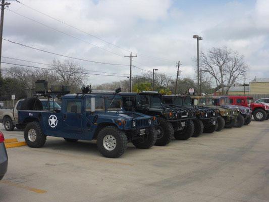 Humvee Parade