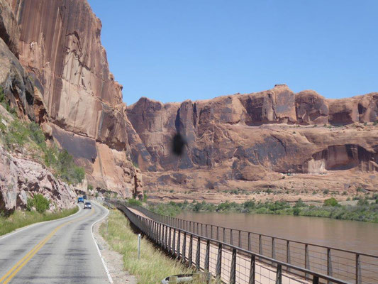 Scenic Road 128 nach Moab