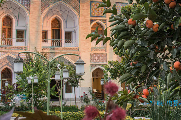 Unser Hotelgarten
