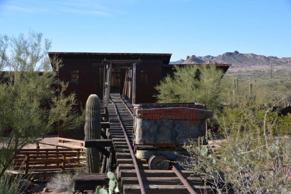 Ghost Town close to Apache Junction