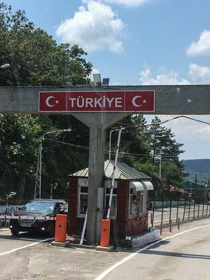 Grenzübergang in die Türkei