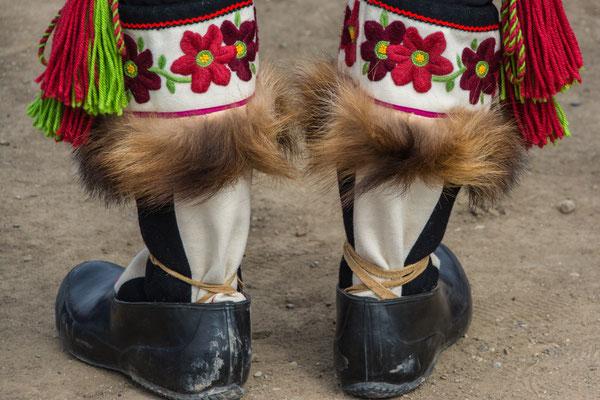 Traditionelle Fußbekleidung