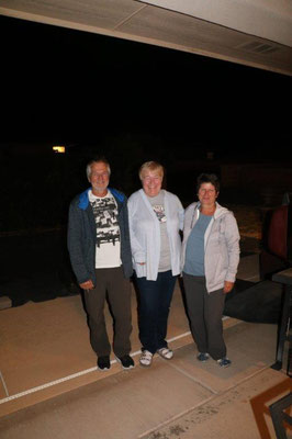 Visit at German friends in Alamogordo