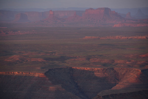 Muley Point - im Hintergrund Monument Valley