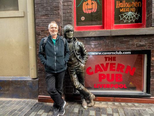 Vor dem Cavern Club, da wo alles begann