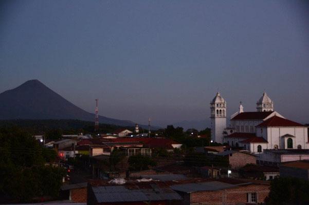 Sonnenuntergang in Juayua