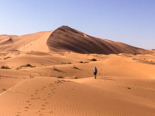Wüstentour - Erg Chebbi Ostumfahrung