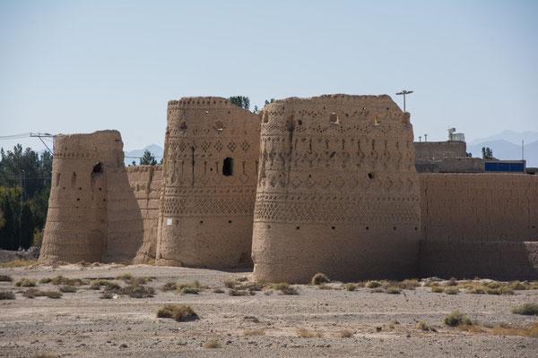alte Festung in Abarkuh