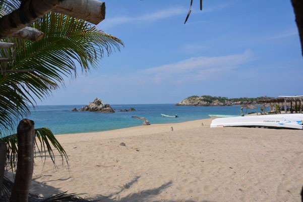 Lovely beach in San Augustin