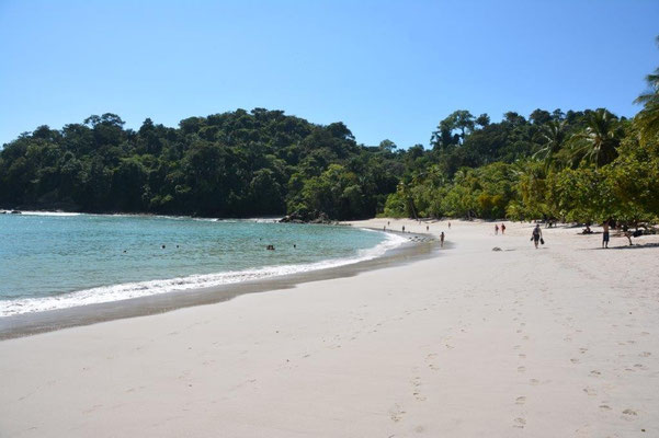 Beach in Manuel Antonio Nationalpark