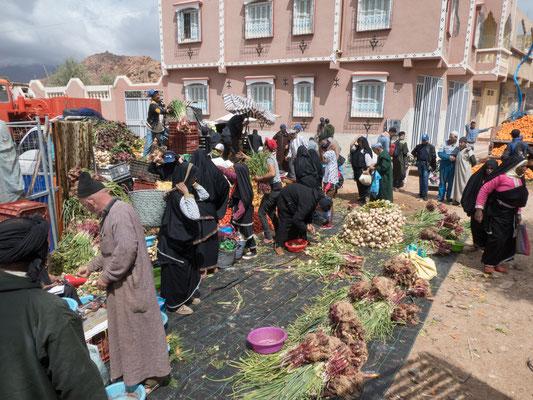 MIttwochsmarkt in Tafraoute