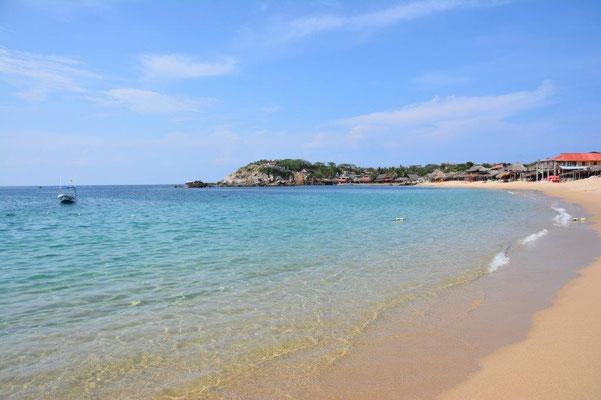 Lovely beach in San Augustin