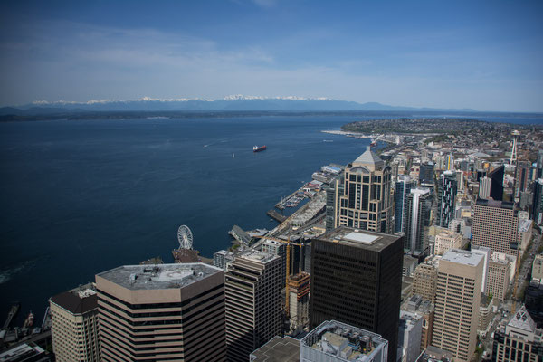 Seattle - View from Columbia Tower