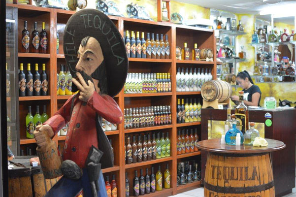 Alocohol store in Puerto Vallarta