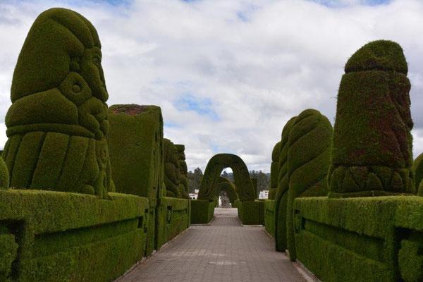Cemetery in Tulcan