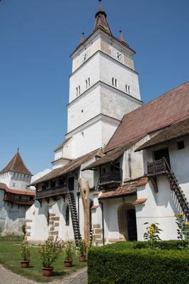 Kirchenburgen in Honigberg und Tartlau