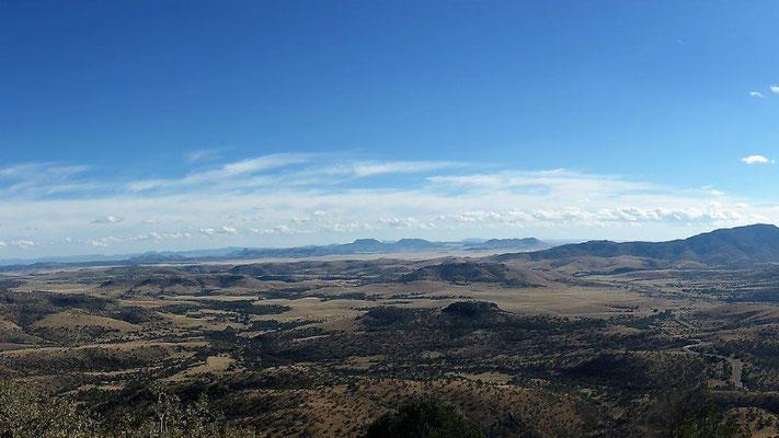 Blick vom McDonald Observatorium