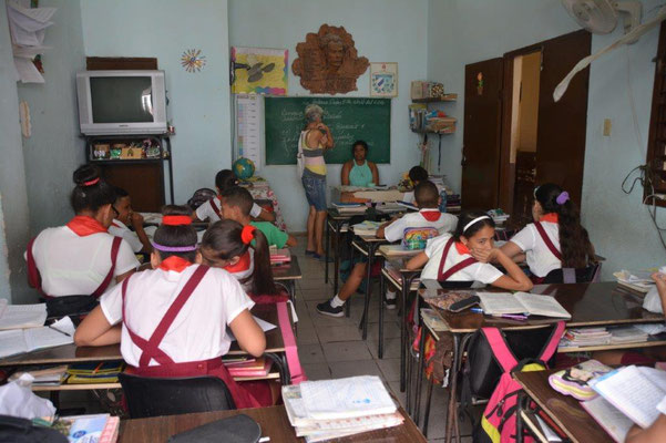 School class in Havanna