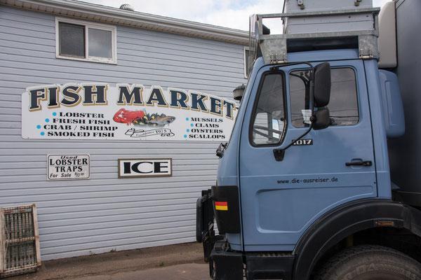 Prince Edward Island, an jeder Ecke ein Fischladen