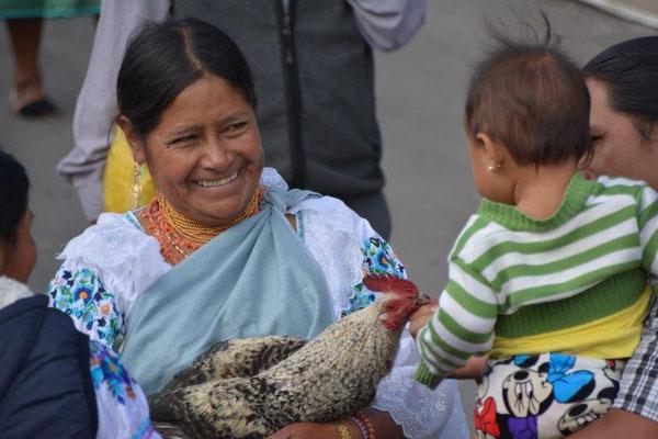 Tiermarkt in Otavalo