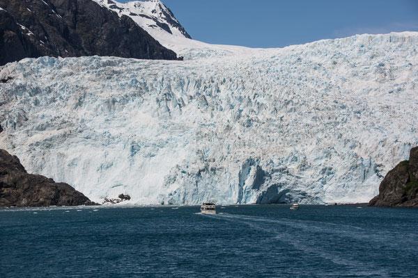 Bootstour zu den Gletschern