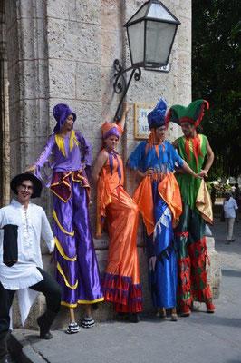Havanna - Stelzenläufer