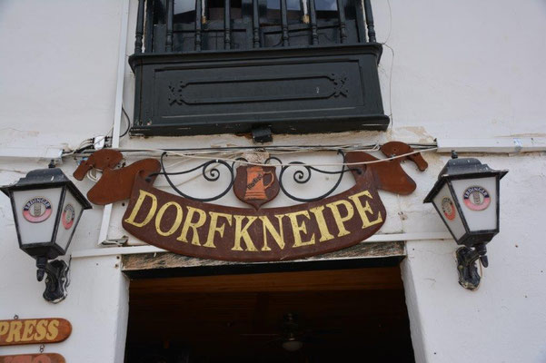 German pub in Villa de Leyva