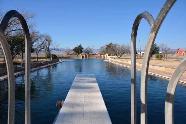 Pool in Balmorhea