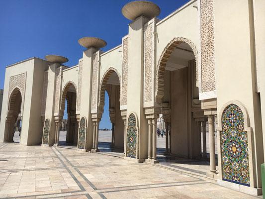 Hassan II. Moschee in Casablanca