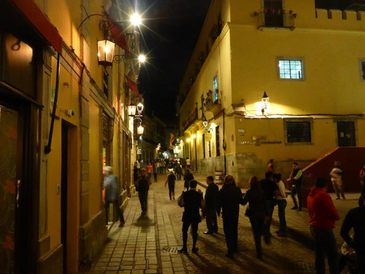 Guanajuato by night