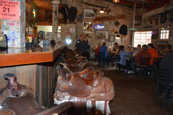 Saloon on the Apache Trail