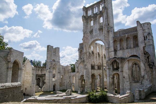 Die Abtei in Jumieges