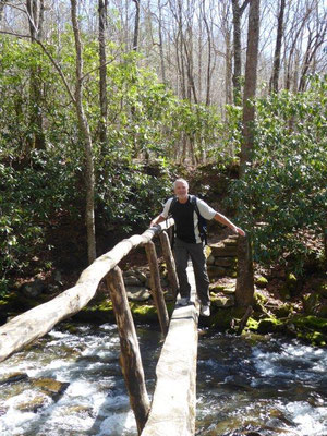 Wandern im Smoky Mountain National Park
