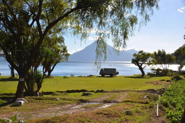 Lago Atitlan - Stellplatz