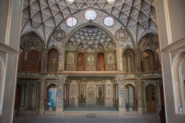 altes Herrenhaus in Kashan