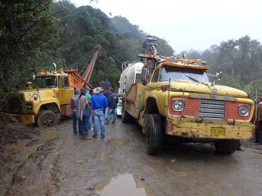 Chaos auf dem Weg nach San Augustin