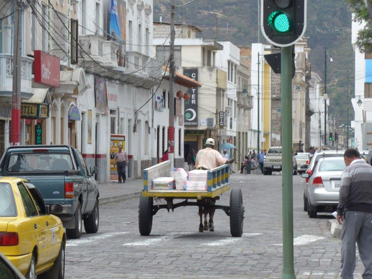 Innenstadt von Ibarra