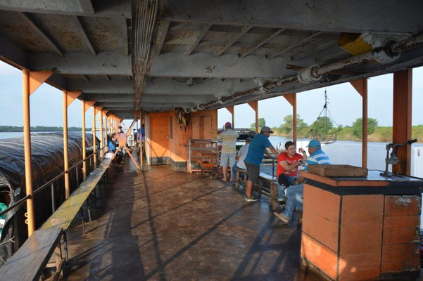 Car ferry to Mompox