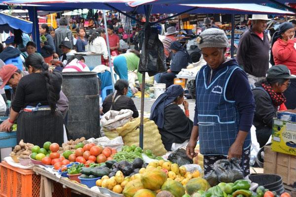 Market in Otavalo