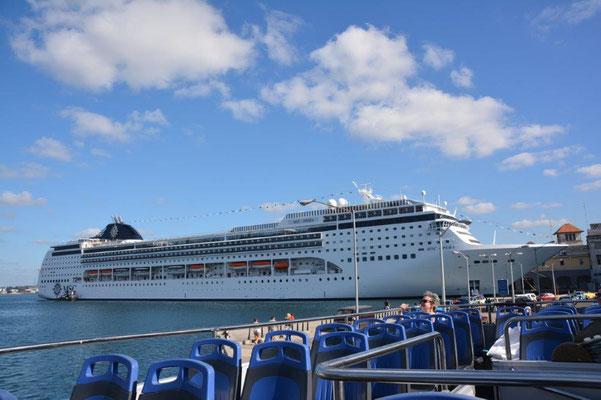 Havanna - fast jeden Tag ein Kreuzfahrtschiff