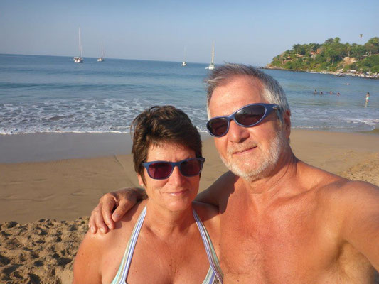 Chacala Beach - Selfie am Strand