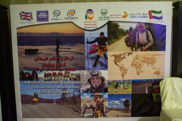 Achtes Traveller Festival in Dubai