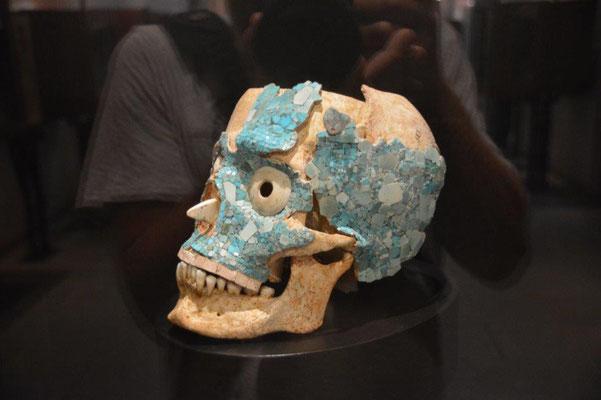 Kulturmuseum in Oaxaca - Gefunden in einem Grab in Monte Alban