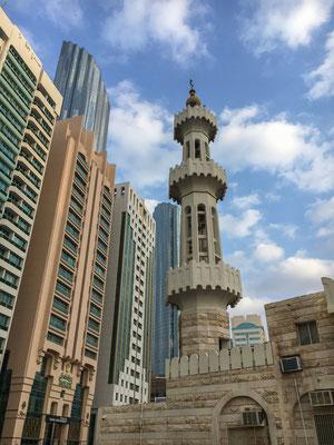 In den Straßenschluchten von Abu Dhabi