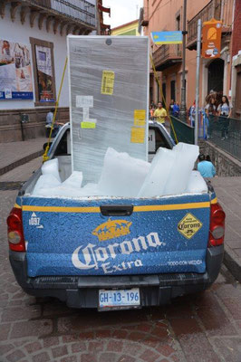 Ice cold Corona beer