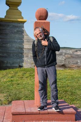 Louisbourg, Manni am Pranger