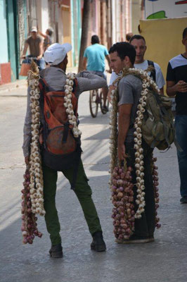 Trinidad - Knoblauch & Zwiebelverkäufer